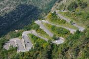 Col de Braus - horská silnice