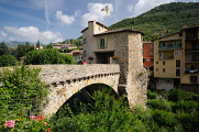 Sospel - starý most Pont Vieux