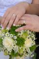 prstýnky a kytice