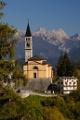 farní kostel v Cibiana di Cadore