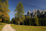 horská louka Pian del Palui