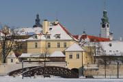 Sokolský ostrov a radniční věž