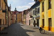 Panská ulice a dominikánský klášter s Bílou věží