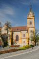 kostel sv. Jana Nepomuckého v Hluboké nad Vltavou