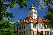 historická budova Jihočeského rozhlasu, nyní Jihočeské univerzity