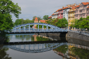 Zlatý most a Zátkovo nábřeží