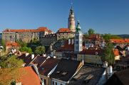 Staatsburg und Schloss Český Krumlov VII