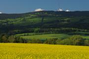 Gebirge Blanský les und Berge Kleť