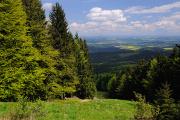 Budweisbecken aus Berg Klet