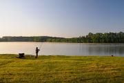 rybník Štilec a rybáři I