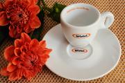 šálek na espresso Bristot a jiřiny
