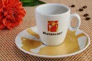 šálky na espresso Hausbrandt a jiřiny I