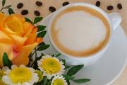 cappuccino a růže II
