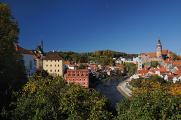 státní hrad zámek Český Krumlov a kostel sv.Víta