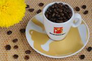 šálek na espresso Hausbrandt a chryzantéma I
