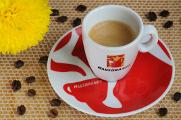 šálek na espresso Hausbrandt a chryzantéma III