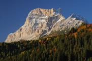 Monte Pelmo nad údolím Boite