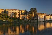 Bassano del Grappa nad řekou Brenta I