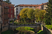 Vicenza - pohled z Ponte S. Michele