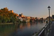 Bassano del Grappa nad řekou Brenta II