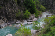 kaňon řeky Roya v Přímořských Alpách I