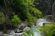 kaňon řeky Roya v Přímořských Alpách II