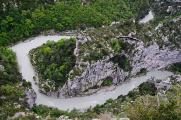 kaňon Verdon od Balcons II