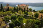 městský hrad v Aiguines