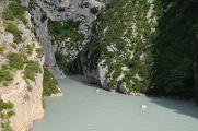 ústí Verdonu do Lac Ste-Croix