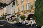 Rue Bourgade v Moustiers