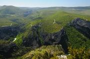 vojenský prostor Camp Canjeurs a údolí Artuby