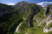 kaňon řeky Verdon