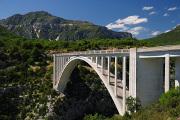 bungee jumping na mostě Pont de l'Artuby