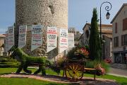 Sisteron - náměstí Place-du-Général-de-Gaulle