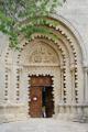 klášter Ganagobie - vstupní portál