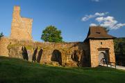 hrad Velhartice - vstupní brána I