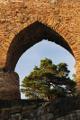 hrad Velhartice - gotický oblouk I
