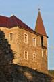 hrad Velhartice - přístavba