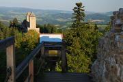Pustý hrádek a hrad Kašperk II