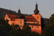 Strašín - kostel Narození Panny Marie I