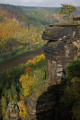 údolí Labe z vyhlídky Belveder na Labské Stráni