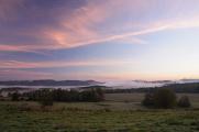 Pastevní vrch - ranní mlha I