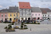 Weitra - renesanční dům na náměstí