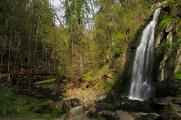 Terčino údolí - vodopád I