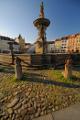 náměstí Přemysla Otakara II. a Samsonova kašna IV