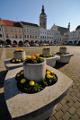 náměstí Přemysla Otakara II. a Černá věž