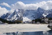 Dolomity - jezero Misurina