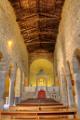 San Leo - interiér románského kostela