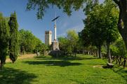 San Leo - Torre z parku