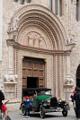 Perugia - Palazzo dei Priori - vstupní portál